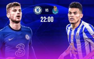 Челси — Порту где смотреть онлайн трансляцию Лиги чемпионов