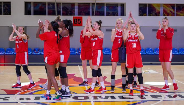 Прометей проиграл белорусскому Горизонту в полуфинале Европейской женской баскетбольной лиги