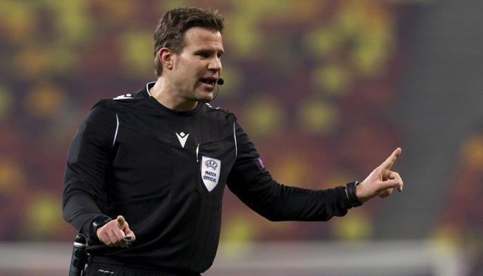 Перший матч ПСЖ і Манчестер Сіті в півфіналі ЛЧ розсудить Фелікс Брих