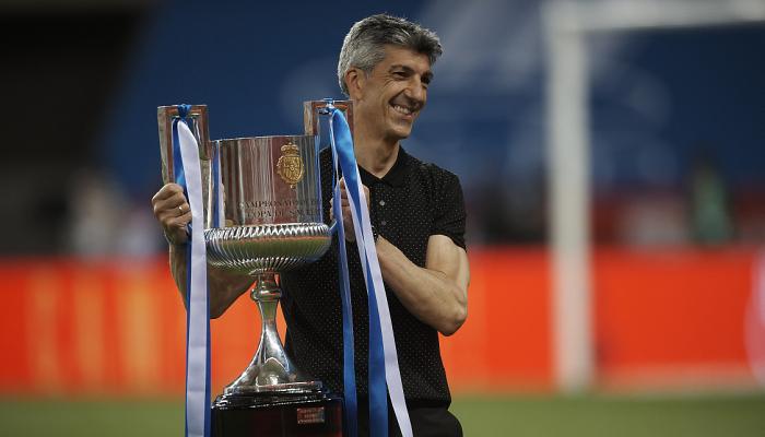 Тренер Реала Сосьєдад Альгуасіль виконав фанатський девіз після перемоги в Кубку Іспанії