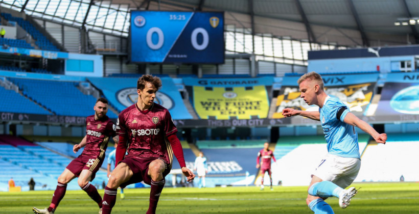 Манчестер Сити с Зинченко неожиданно проиграл Лидсу на своем поле