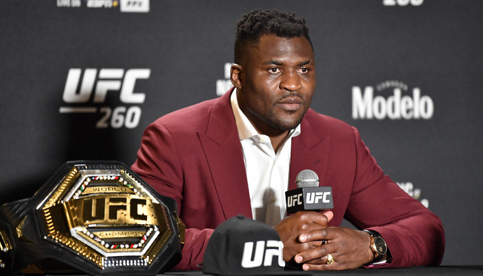Чемпион UFC Нганну заинтересован в поединке с Фьюри