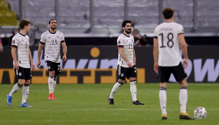 Германия проиграла в отборе на чемпионат мира впервые с 2001 года
