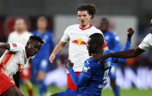 Лейпциг не смог обыграть Хоффенхайм в матче Бундеслиги