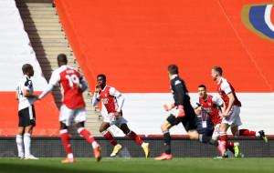 Арсенал вырвал ничью с Фулхэмом в компенсированное время