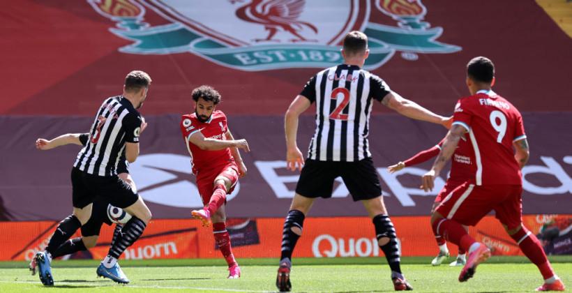 Ливерпуль на своем поле упустил победу над Ньюкаслом