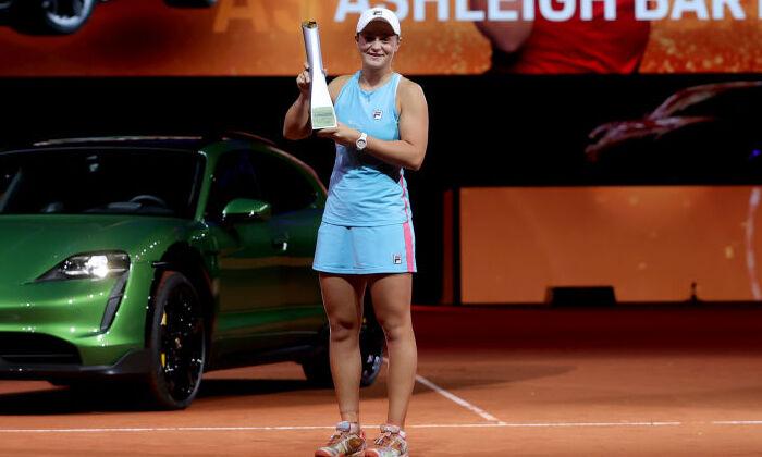 Барти победила Соболенко и выиграла турнир в Штутгарте