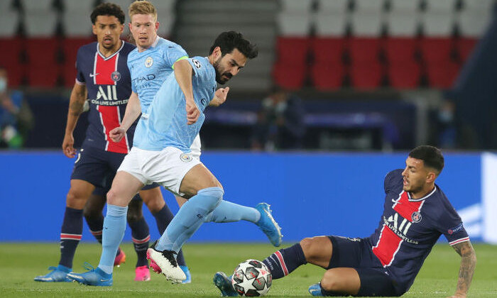 Манчестер Сити – ПСЖ где смотреть онлайн трансляцию матча