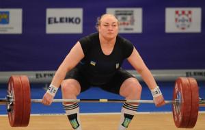 Украинка Лысенко выиграла серебро чемпионата Европы по тяжелой атлетике