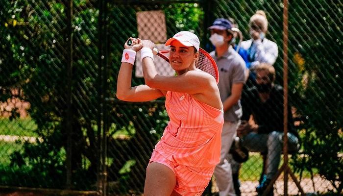 Калинина вышла в полуфинал турнира ITF в Оэйраше