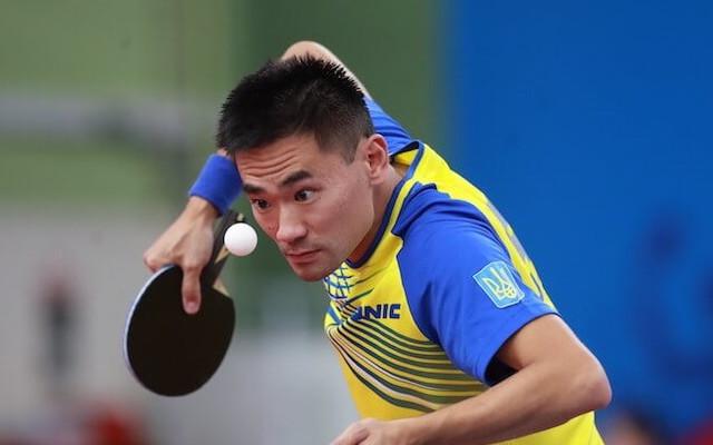 Українець Коу Лей завоював олімпійську ліцензію в настільному тенісі
