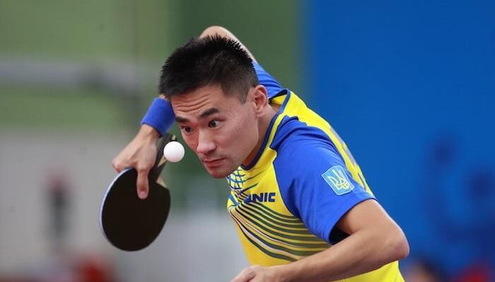 Украинец Коу Лей завоевал олимпийскую лицензию в настольном теннисе