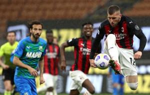 Милан на своем поле минимально проиграл Сассуоло