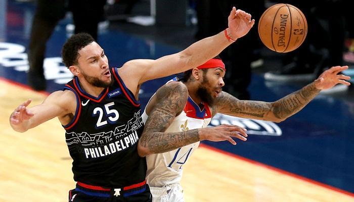 НБА: Милуоки проиграл Шарлотт, Филадельфия — Нью-Орлеану