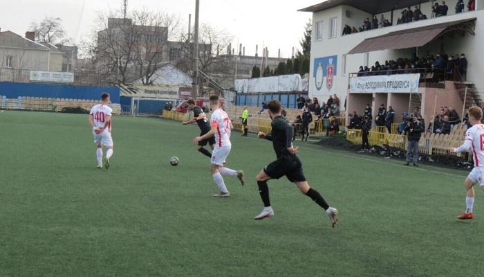 Ничья в Виннице на старте 16-го тура Второй лиги. Диназ — лидер группы «А»