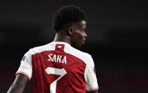 Сака визнали гравцем тижня в Лізі Європи