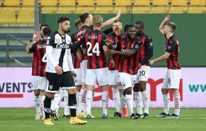 Парма — Милан. Видео обзор матча за 10 апреля