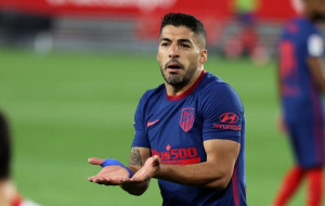 Луїс Суарес повернувся в загальну групу Атлетіко після травми