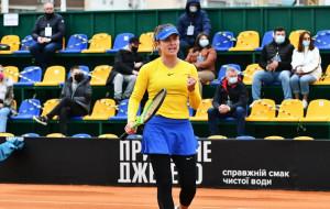 Свитолина выиграла первый матч сборной Украины в поединке с Японией