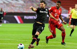 Бавария — Байер 2:0 онлайн трансляция матча