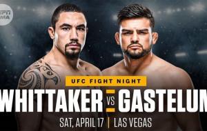 Лучше поздно, чем никогда. Анонс главного боя UFC ON ESPN 22 Уиттакер — Гастелум