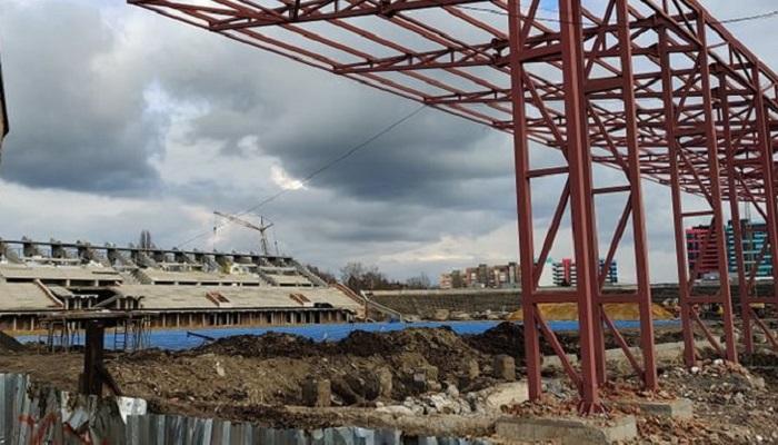 Горсовет Ровно выделил 50 миллионов гривен на реконструкцию стадиона Авангард