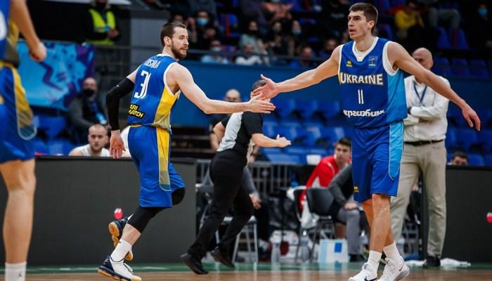 Україна зіграє з Грецією й Італією на Євробаскеті-2022