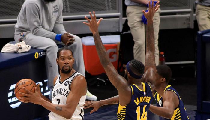 НБА: Бруклин обыграл Индиану, победы Хьюстона, Миннесоты и Денвера