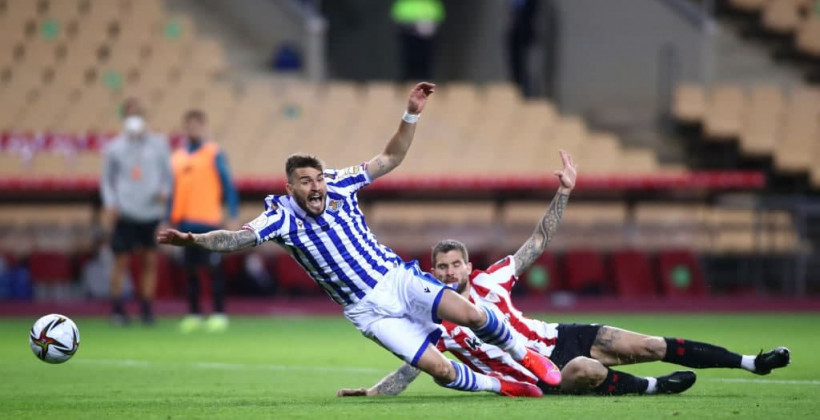 Реал Сосьедад минимально обыграл Атлетик и стал обладателем Кубка Испании 2019/2020