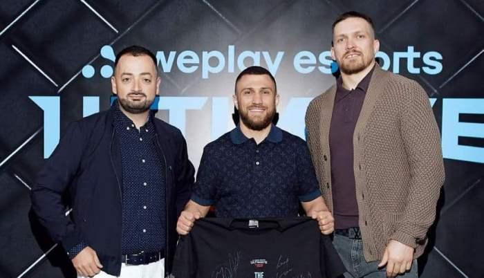 Ломаченко и Усик стали партнерами компании, которая будет проводить киберспортивные файтинг-турниры