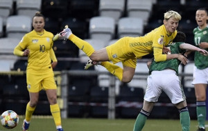 Женская сборная Украины проиграла Северной Ирландии и осталась за бортом Евро-2022