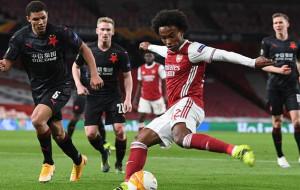 Славия Прага — Арсенал 0:4 онлайн трансляция матча