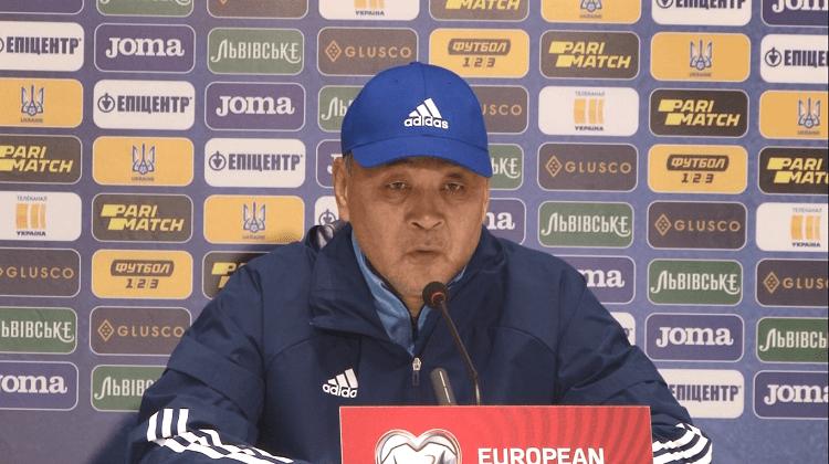 Тренер Казахстана Байсуфинов: Во втором тайме начали играть, как планировали