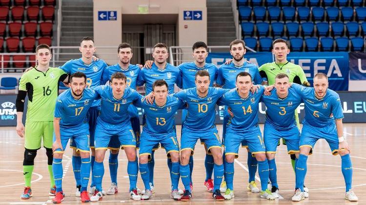 Сборная Украины вышла на Евро-2022 по футзалу