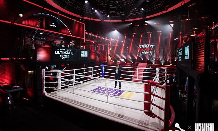 На стику боксу та кіберспорту: як у Києві пройшов вечір поєдинків Ultimate Boxing Night