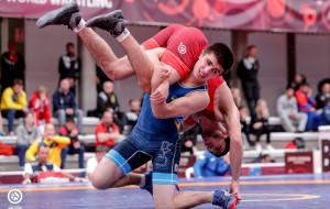 Украинец Керимов завоевал бронзовую медаль на ЧЕ по вольной борьбе