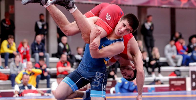 Українець Керімов завоював бронзову медаль на ЧЄ з вільної боротьби