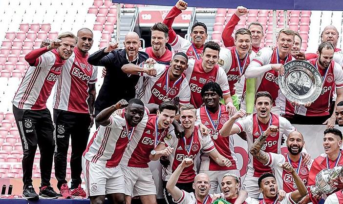 Аякс став чемпіоном Нідерландів 35-й раз в історії
