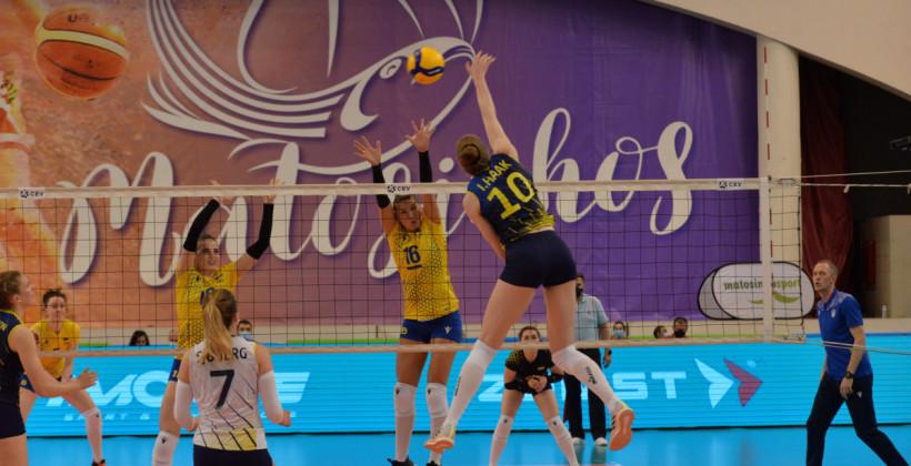 Жіноча збірна України програла другий матч Швеції у відборі на ЧЄ-2021 з волейболу