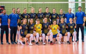 Женская сборная Украины победила Грузию в заключительном матче отбора на Евро-2021 по волейболу