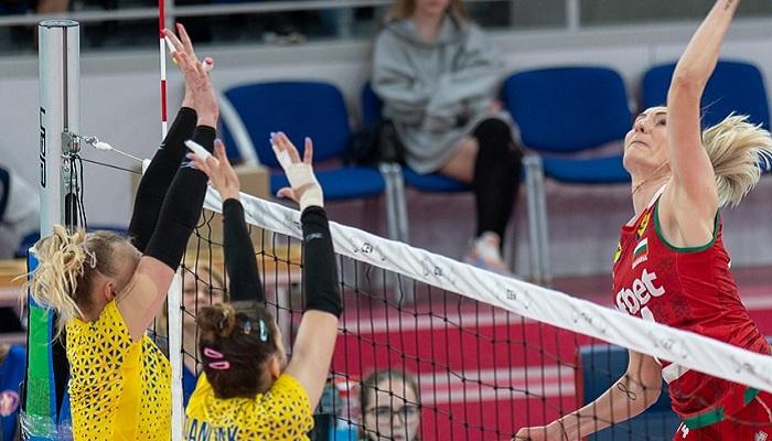 Жіноча збірна України з волейболу програла Болгарії в Золотій Євролізі