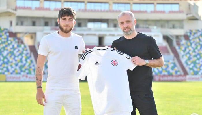 Цитаишвили: «Всегда хотел играть за Грузию»