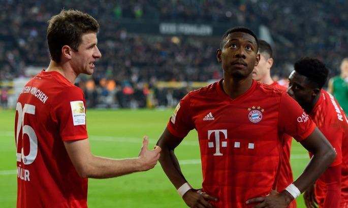Мюллер і Алаба 10-й раз виграли Бундеслігу. Це рекорд турніру