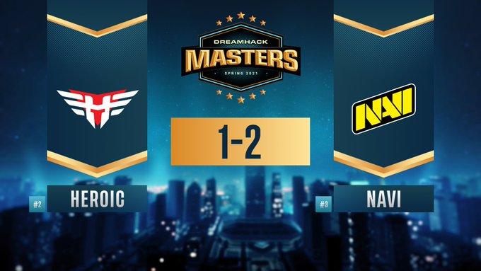 NAVI победили Heroic и вышли в финал DreamHack Masters Spring 2021