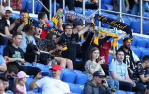 Металл установил рекорд посещаемости сезона 2020/21 в чемпионатах Украины