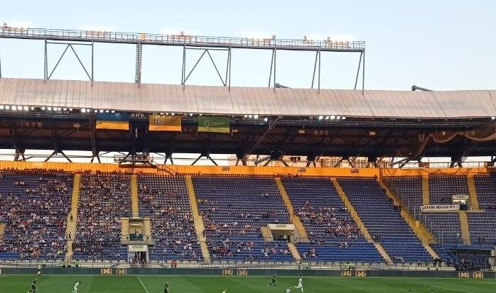 На матчі Металіст 1925 – Чорноморець був встановлений рекорд сезону за відвідуваністю в Першій лізі