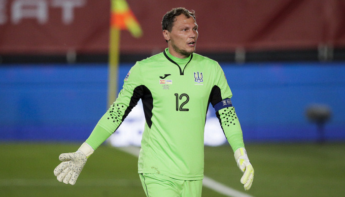 Пятов завершить кар'єру в збірній України після Євро-2020