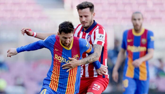Барселона и Атлетико расписали ничью