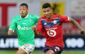 Лилль сыграл вничью с Сент-Этьеном и опережает ПСЖ на одно очко за тур до завершения Лиги 1