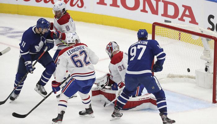 НХЛ. Торонто зрівняв рахунок у серії з Монреалем, розгромні перемоги Тампи і Вегаса